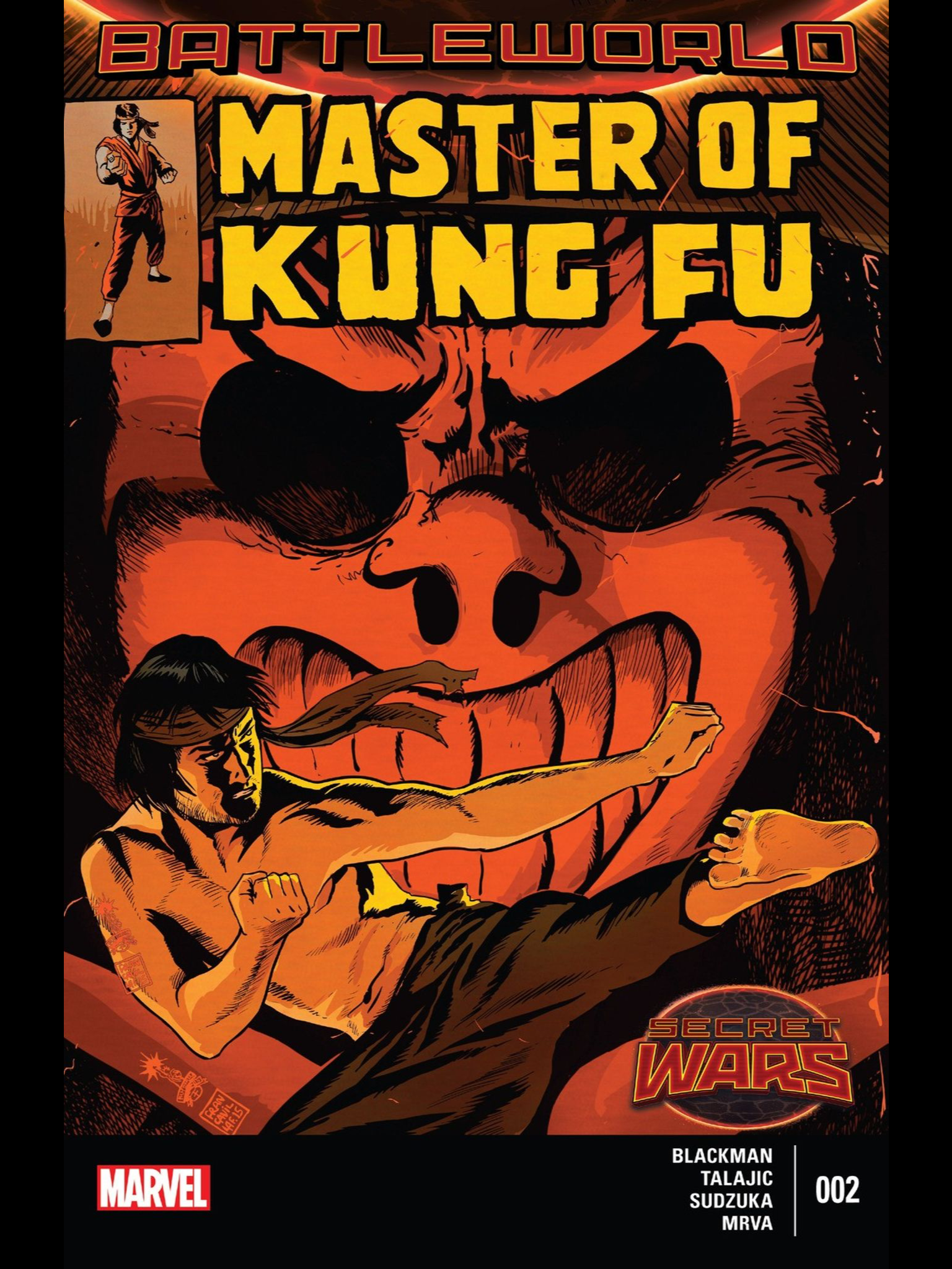 Marvel Unlimited App Coming On Surface - Masters of kung fu is the dark horse in the secret wars race on the surface the issue seems pretty standard it s essentially a kung fu apocalypse