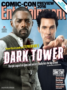 Entertainment Weekly's Comic Con cover.