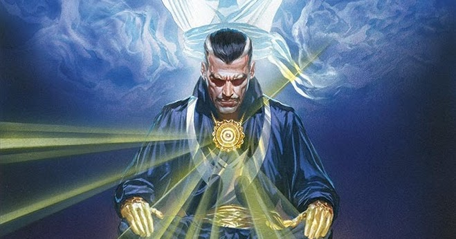 Image result for doctor strange alex ross